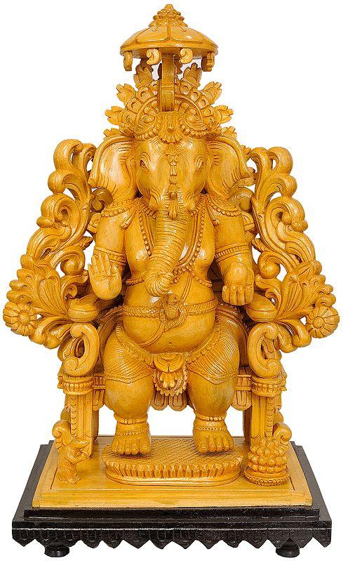 Kingly Lord Ganesha