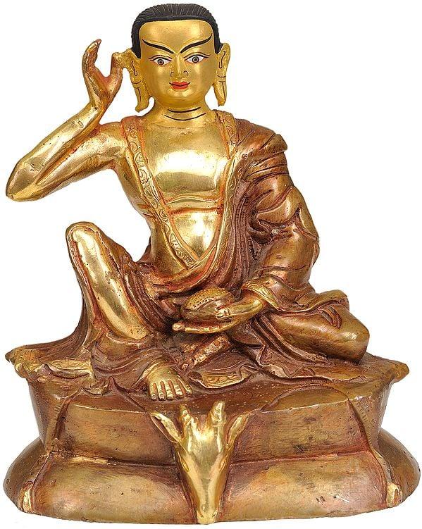 Milarepa: A Narrative Sculpture (Tibetan Buddhist Deity)