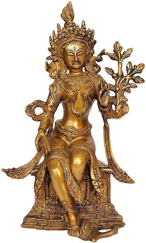 (Tibetan Buddhist Deity) Seated Tara