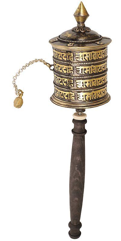 Tibetan Buddhist Prayer Wheel