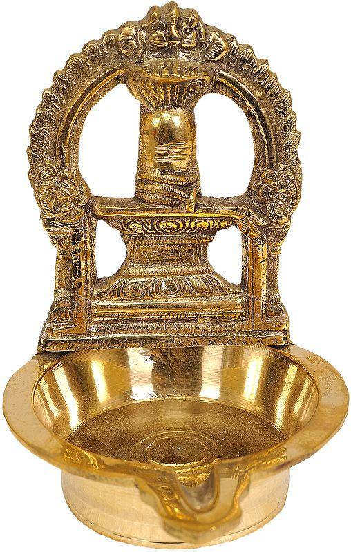 Shiva Linga Puja Diya