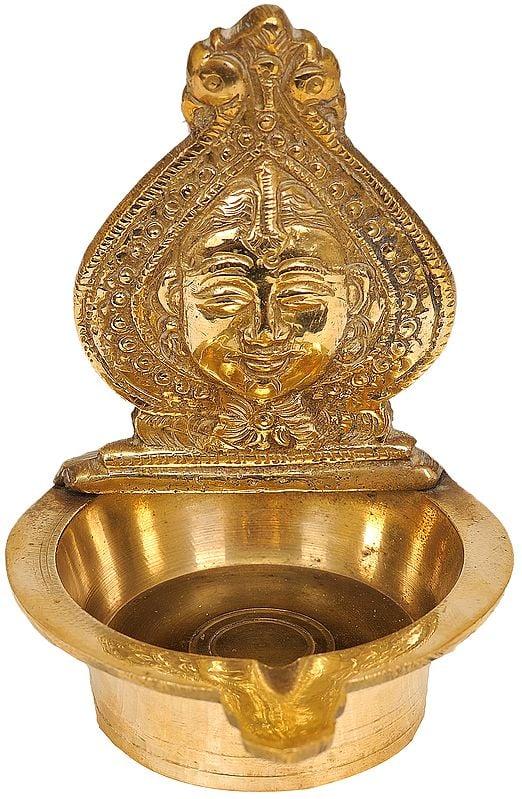 Devi Puja Lamp