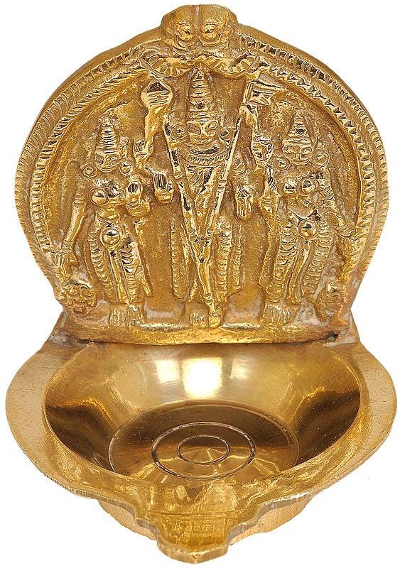 Bhagawan Karttikeya Lamp