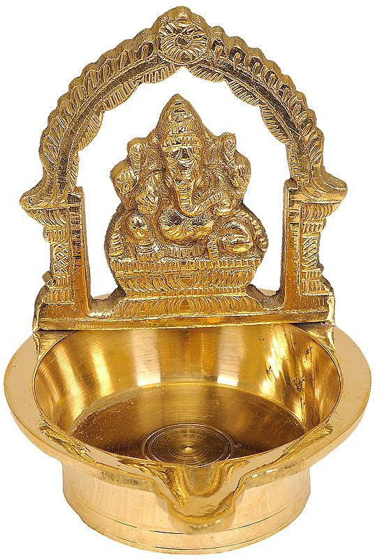 Ganesha Puja Lamp