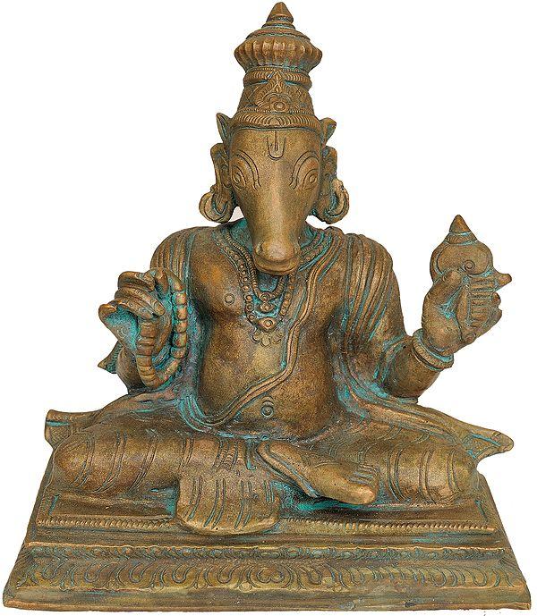Bhagawan Hayagriva - The Horse Headed Incarnation of Shri Vishnu
