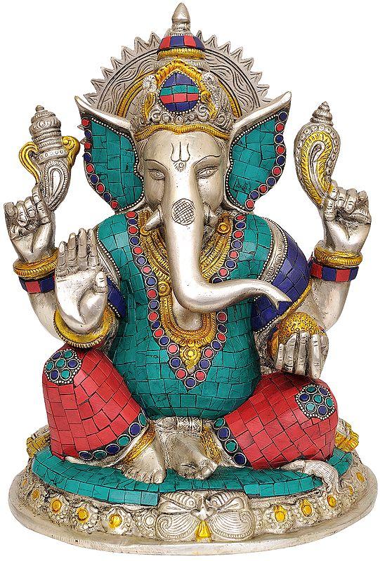 Four Armed Ganesha