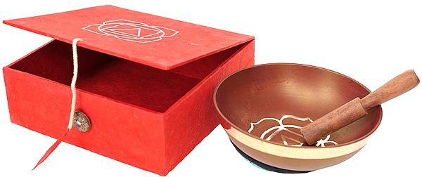 Tibetan Buddhist Muladhara Chakra Singing Bowls