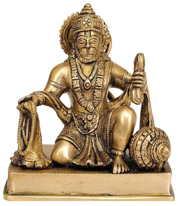 Lord Hanuman Singing Bhajans