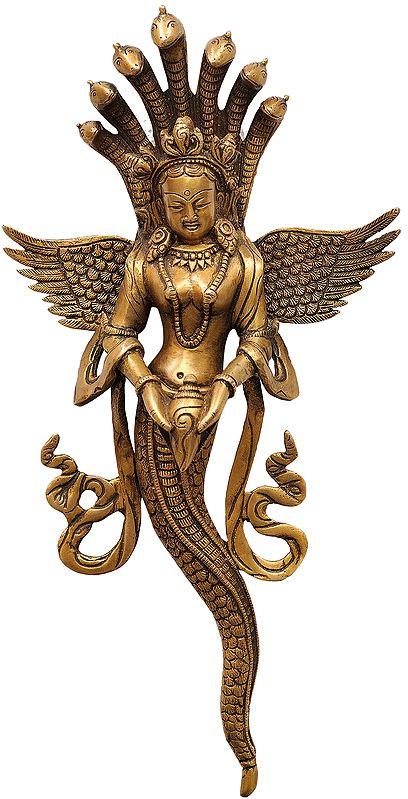Naga Kanya Wall Hanging (Snake Woman)
