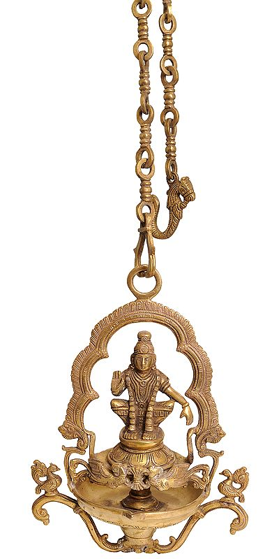 Ayyappan Temple Hanging Lamp