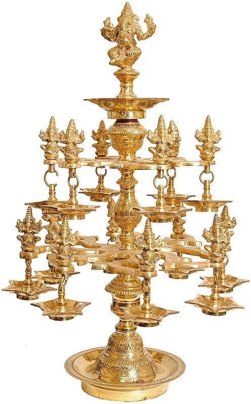 Ganesha Lamp