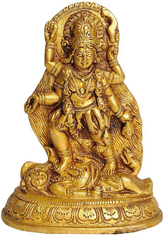 Temple Mother Goddess Kali
