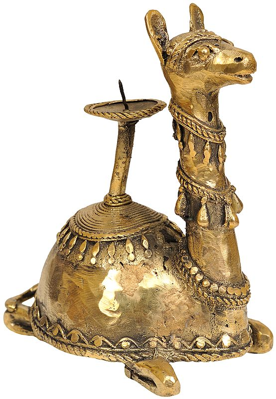 Camel Candle Stand (Tribal Art from Bastar)