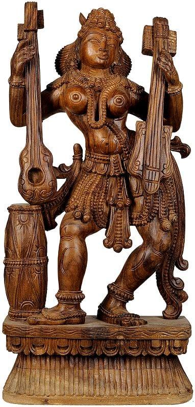 Large Size Yakshi, The Celestial Dancer