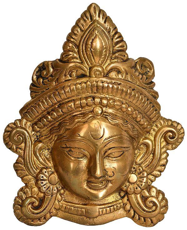 Goddess Durga Wall Hanging Mask
