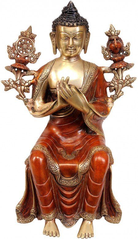 The Future Buddha Maitreya (Without Base)