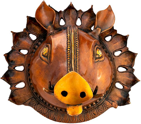 Lord Varaha Mask Glimmering With Life