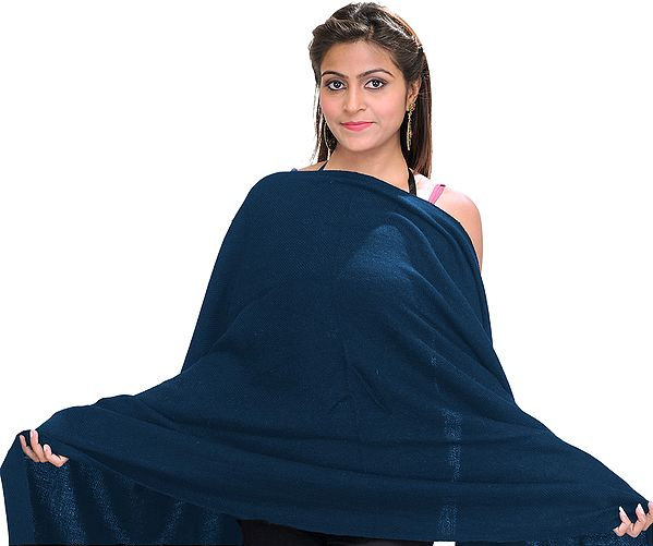Plain Cashmere Stole from Nepal
