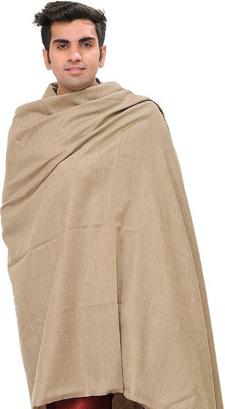 Cobblestone Plain Pure Pashmina Dushala for Men