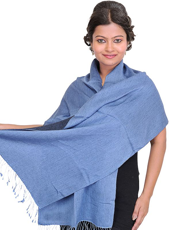 Reversible Cashmere Scarf from Nepal