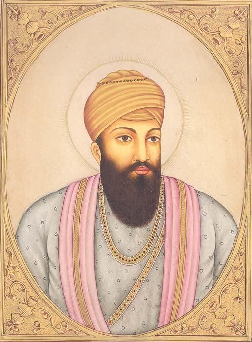 Guru Angad Dev, The Second Sikh Guru. (September 7th 1539 – March 29th 1552)