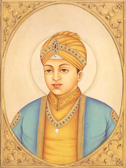 Guru Harkrishan  (October 6th 1661 – 30th March, 1664)