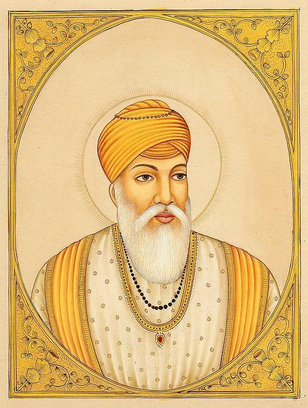 Guru Amardas, The Third Sikh Guru. (March 1552 – September 1st 1574)