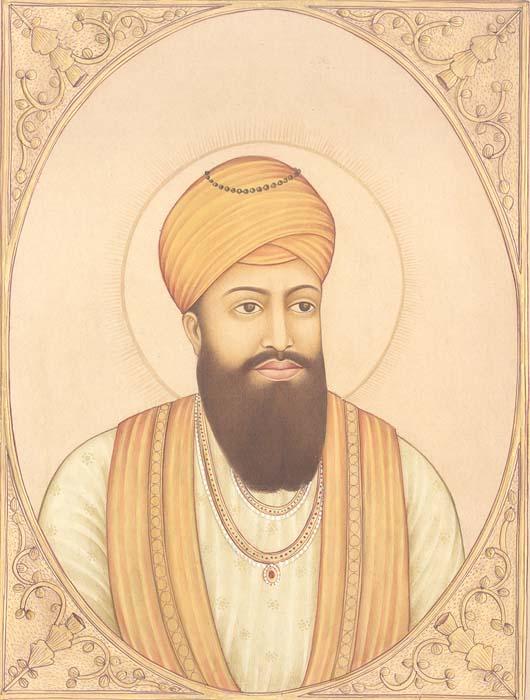 Guru Ramdas, The Fourth Sikh Guru. (September 1st 1574 – September 1st 1581)
