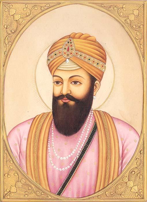 Guru Har Rai, The Seventh Sikh Guru. (February 28th 1644 - 6th October 1661)