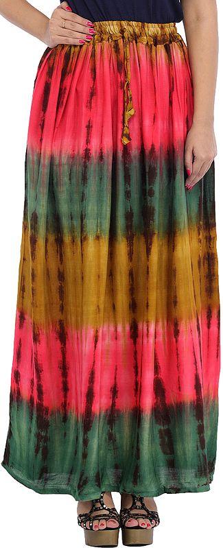 Batik Printed Long Skirt