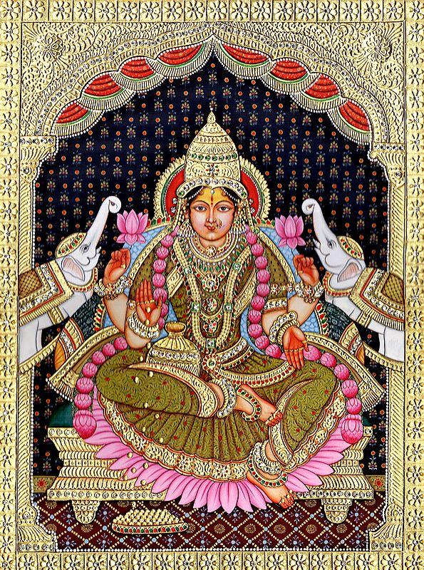 Devi Lakshmi, The Picture Of Plenty