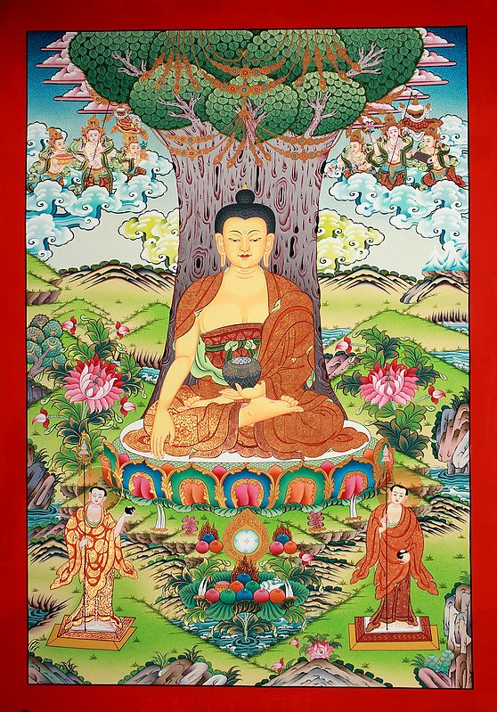 Bhumisparsha Buddha, Amidst Himalayan Verdure
