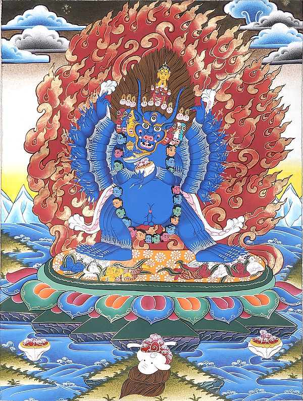 Tibetan Buddhist Yamantaka - Encounter with Death