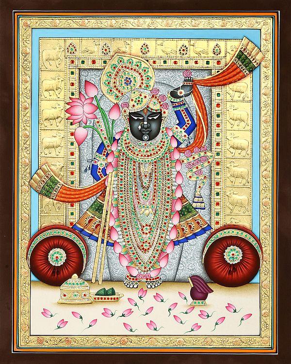 Shrinath Ji in Super Gold