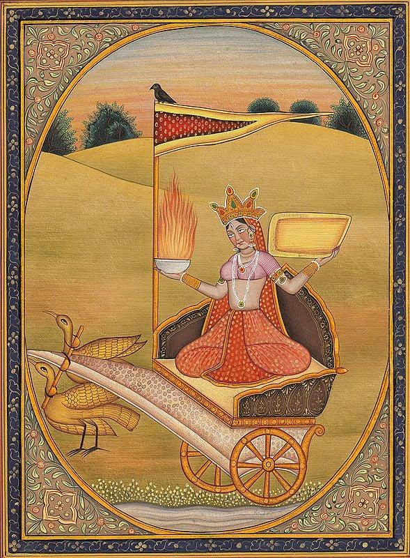 Dhumavati - The Widow Goddess