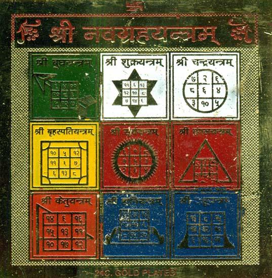Shri Navagraha Yantra (Yantra of the Nine Astrological Planets)