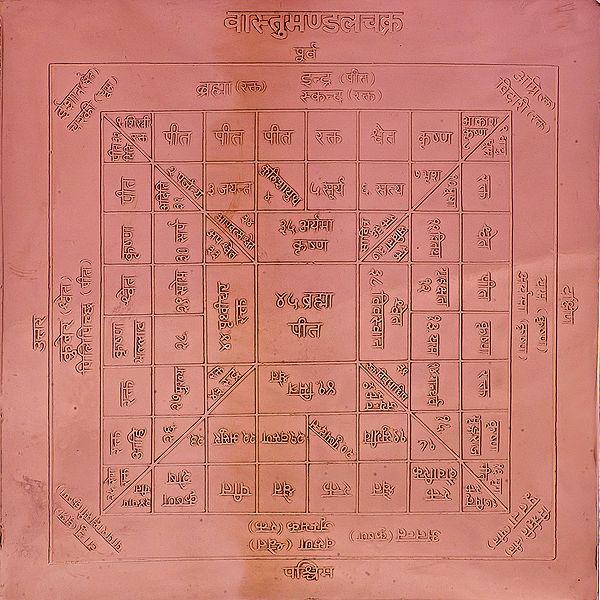 Vastu-Mandala Chakra Yantra