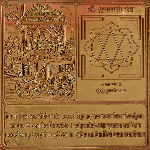 Shri  Dhumawati Yantra (Ten Mahavidya Series)