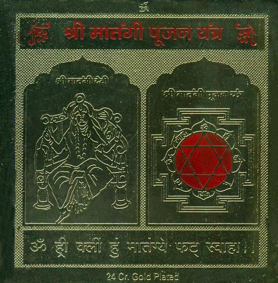 Shri Matangi Yantra