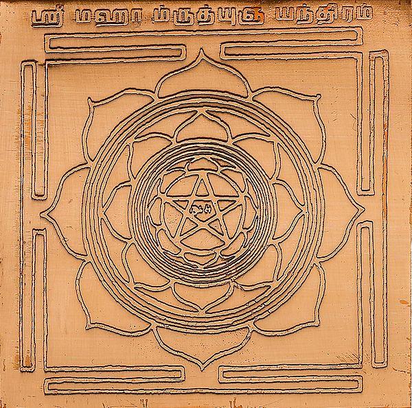 ஸ்ரீ மஹா ம்நதயுஞ யந்திரம்: Maha Mrityunjaya Yantra (Tamil)