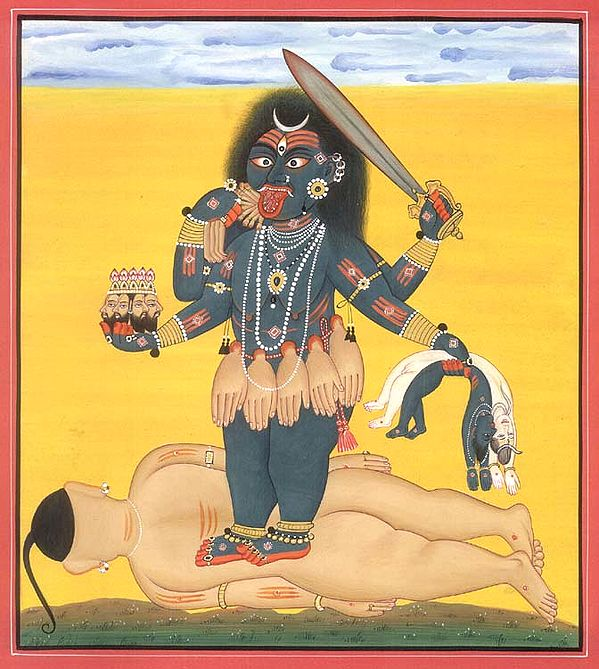 Tantric Devi Series - Bhadrakali, Destroyer of the Universe