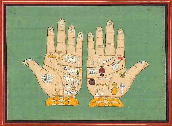 The Lotus Handprints of Lord Caitanya Mahaprabhu