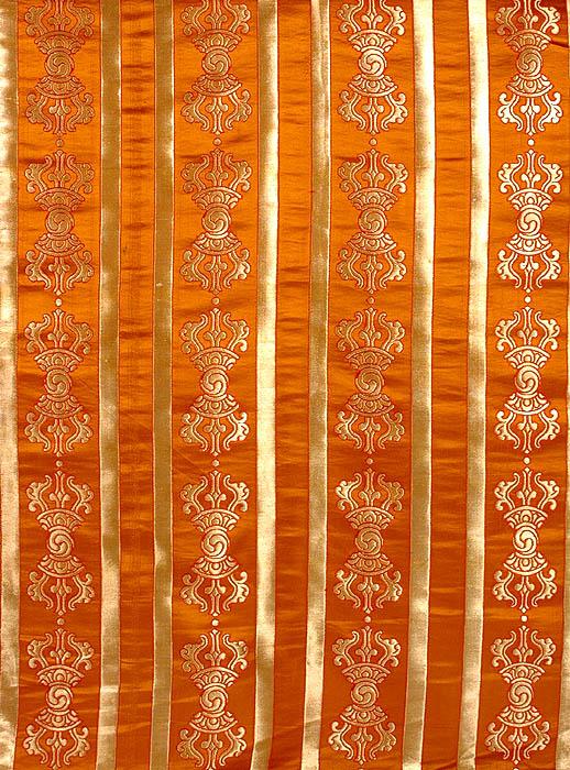 Ochre-Brown Vajra Altar Cloth