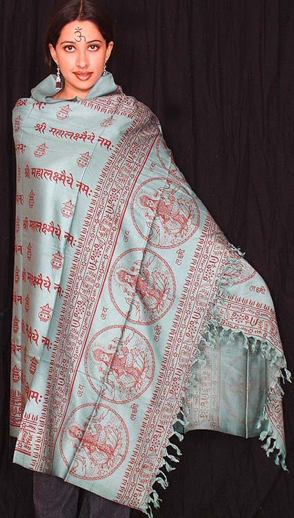 Shri Mahalakshmaya Namah (Glory to The Great Goddess Lakshmi)