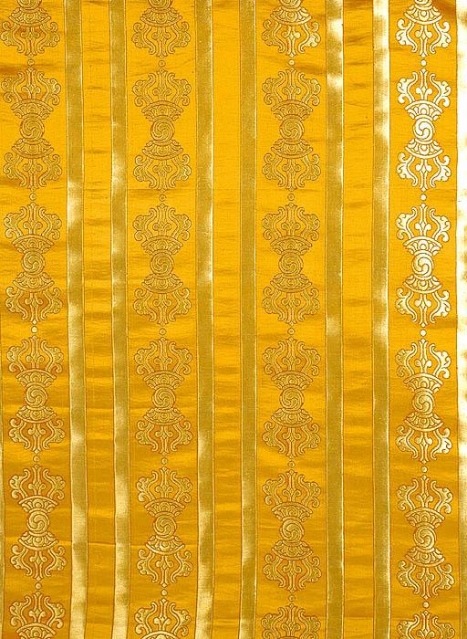 Golden Vajra Altar Cloth
