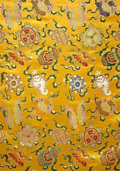 The Eight Symbols of Good Fortune (Tib. bkra-shis rtags-brgyad, Skt. ashtamangala)