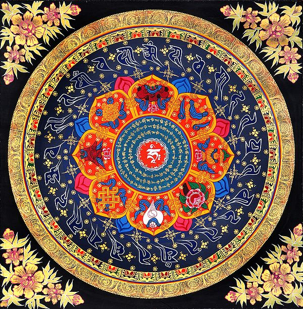 Spirit Of Enlightenment Mandala