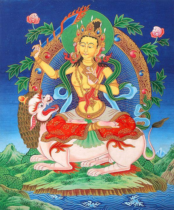 Bodhisattva Manjshri, The Bodhisattva Of Ekavyooha Samadhi