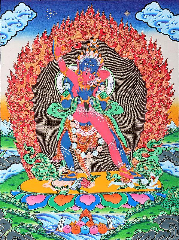 Cakrasamvara-Vajravarahi, Deities Of The Sri Cakrasamvara Tantra